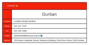 PAWUSA Durban
